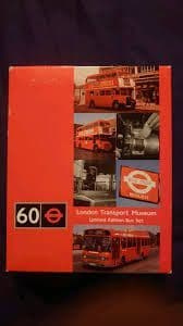 60th Anniversary London Transport Museum Limited Edition Bus Set